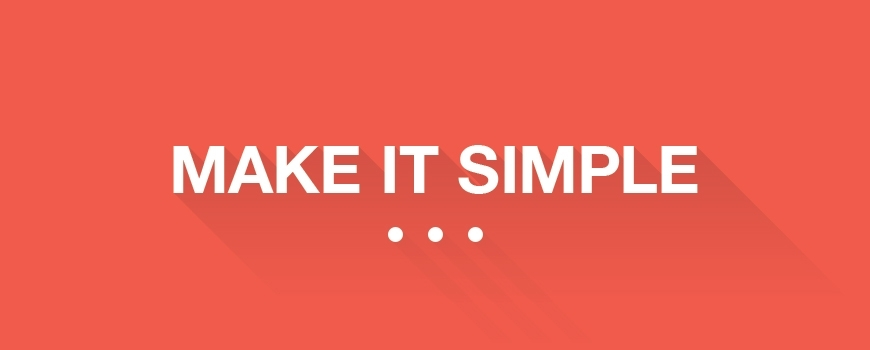 Flat Design - Make it Simple!
