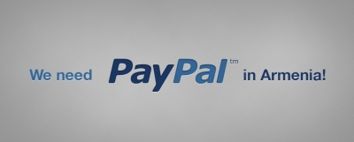 Fully operating PayPal in Armenia