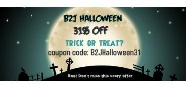 B2J Scary Halloween Offer